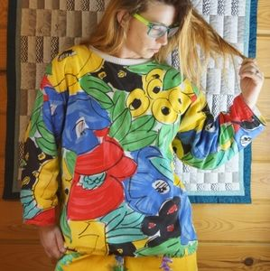 Epic 1980's reversible sweatshirt